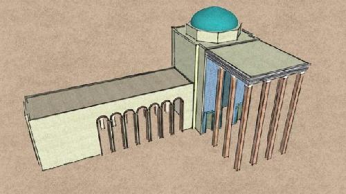 تیری دی ارامگاه سعدی